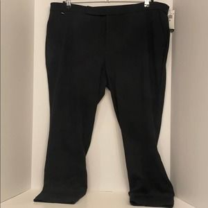 Lauren Ralph Lauren Stretch Knit Skinny Pants 2X